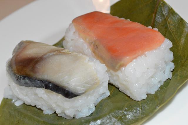 たなかの柿の葉寿司6